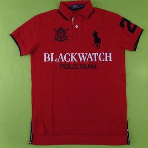 NWT Blackwatch Polo Ralph Lauren Shirt Big Pony